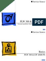 Apple PLW 300 320 & LW 4 600 PS Service Source