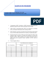 Brief of Dpc Procedure