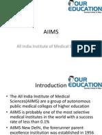 AIIMS(All India Institute of Medical Sciences
