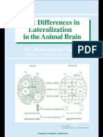 7.Sex Differencies in Lateralisation in Animal Brain