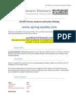 en405 course information