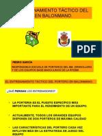 1078_ENTRENAMIENTO TACTICO DEL PORTERO EN BALONMANO. Pedro García
