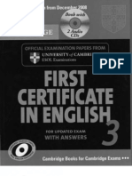 First Certificate in English 3 for Updated Exam with answers [Cambridge].pdf
