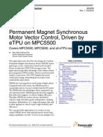 pmsm speed control