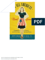 10 All American Novel Aprons - White Sewing Machine Co.