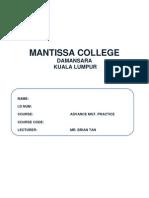 Advance management practice