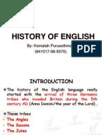 1.History of English.-plainppt