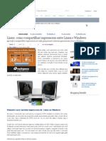 Linux_ Como Compartilhar Impressoras Entre Linux e Windows