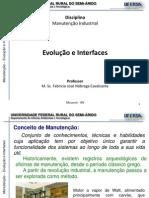 Manutencao Industrial - 1.1-Evolucao e Interfaces