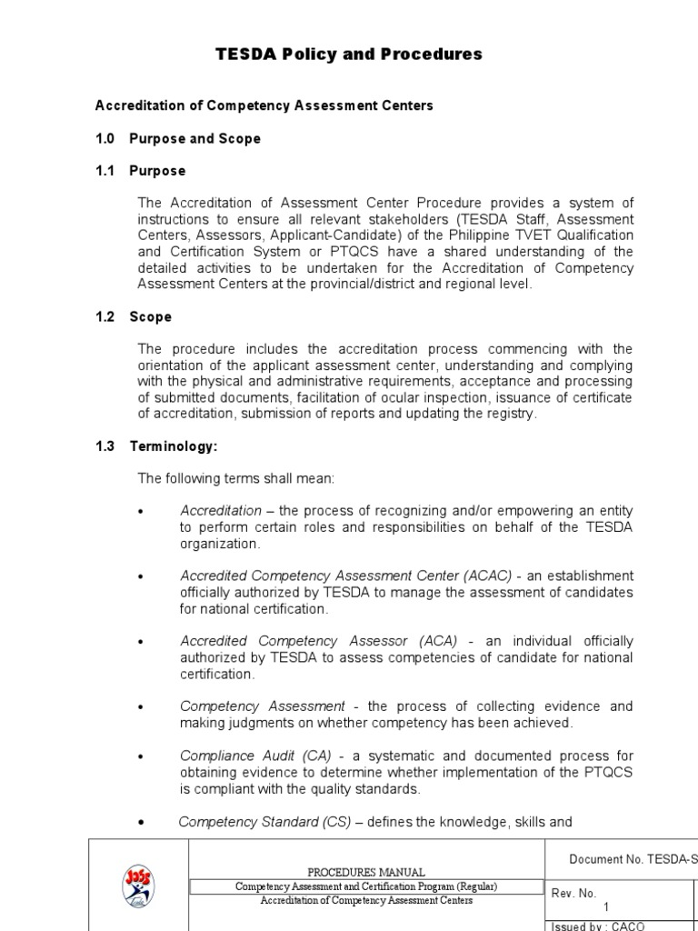 Accreditation of assessment centers qas 031 cer 09 competence accreditation of assessment centers qas 031 cer 09 competence human resources welding xflitez Gallery