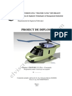 Studiul si analiza CFD si FEA a unei pale neconventionale de elicopter