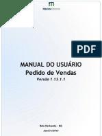 Manual Pedido de Venas - Versão Android