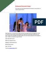 Bollywood Romantic Songs