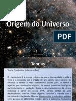 2 - Origem Do Universo