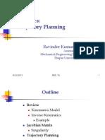 Duvedi R. K., Robotics-Trejectory Planing