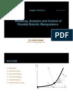 Singla a., Modeling, Analysis and Control of Flexible Robotic Manipulators