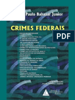 Crimes Federais - 8a Edicao - Jose Paulo Baltazar Jr