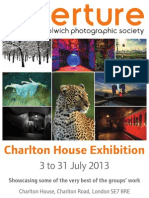 Charlton House AWPS Exhibition 2013