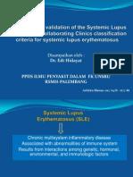 Kriteria SLE, SLICC , Oleh Dr. Edi Hidayat