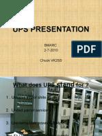 Ups Presentation30