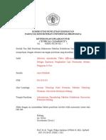 Contoh Isi Form Etik Penelitian Hewan Coba Di Fakultas Kedokteran Universitas Brawijaya