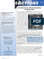 New Direction for Critical Infrastructure Protection (CIP)