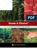 Solutions for Deforestation Free Meat