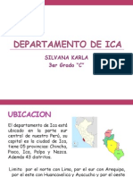 Departamento de Ica- Diapositivas