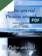 Pulso y toma de presión arterial -  Semiología Facultad de Medicina - UM