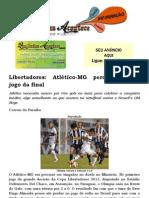Libertadores Atlético-MG perde primeiro jogo da final