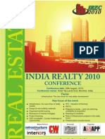 Brochure India Realty 2010