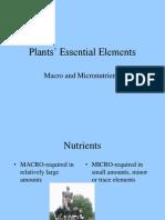 (24.01) Plant Essential Elements