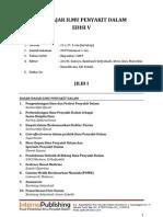 Buku Ajar Ilmu Penyakit Dalam Edisi V