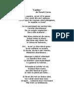 Cantec de Panait Cerna