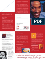 English Hiv Leaflet