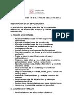 Evaluaciones de Riesgos de Electricista