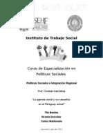 Agenda Social y Sus Desafios en El Paraguay Actual