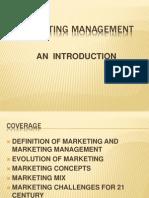 001 Marketing Management