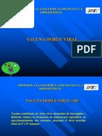 Vacuna Doble Viral (Sr)