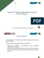 Cap IV Tema i Vigilancia Epidemiologica Del Dengue