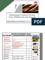 Standard Operation Procedure for IAM Swap Project BTS3900AL(DC)+TP48200A Swap Outdoor Macro Site(V3 11-4-2013)