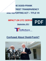 Dodd-Frank Act Impact on OTC Derivatives 0823