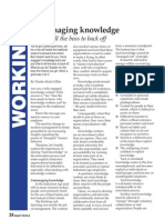 Unmanaging Knowledge (free PDF version)