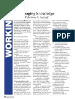 Unmanaging Knowledge (free PDF version)