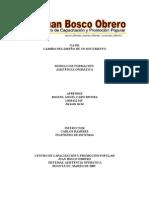 GA-011 cambio del diseño de documento