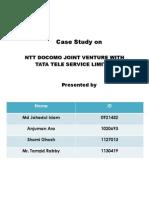 Case Study on NTT Docomo