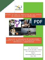 Relación e influencia de la Actividad Física y el Deporte en la población Trans*. Obstáculos y enperiencias