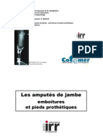 Amputes Tibial Prothese PDF