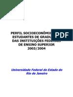 Perfil Sócio-Economico dos Estudantes das IFES