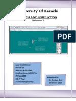 Design & Simulation (Assign 3)
